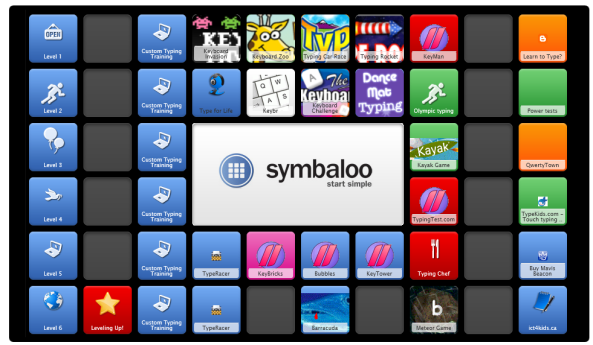 keyboarding symbaloo