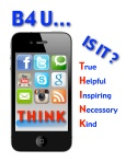 bf u click iphone Poster version